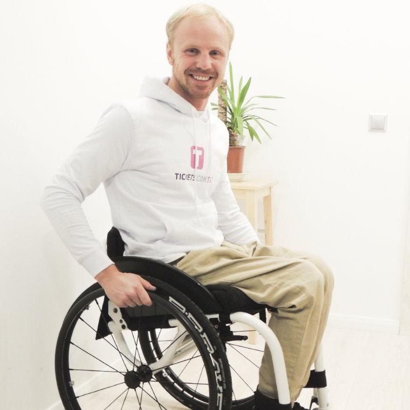 Знаменитый инвалид-путешественник Александр Авдевич
